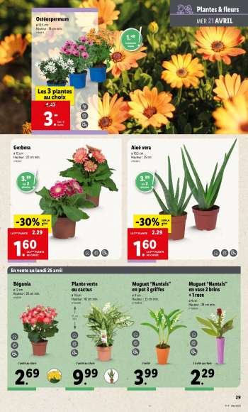 Catalogue Lidl - 21.04.2021 - 27.04.2021.