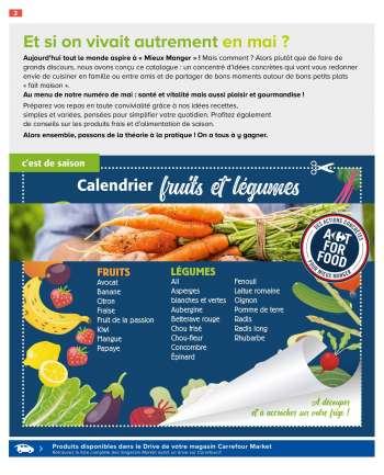 Catalogue Carrefour Market - 11.05.2021 - 23.05.2021.