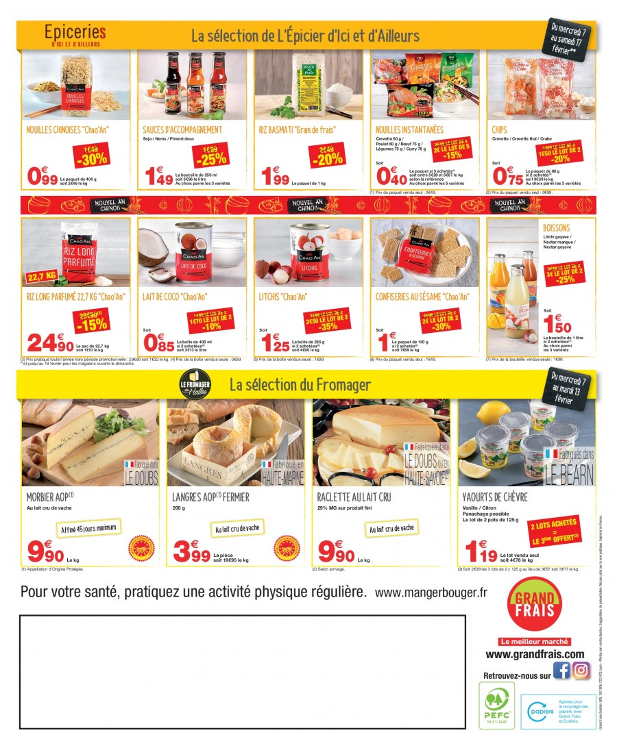 Catalogue Grand Frais - 07.02.2018 - 17.02.2018. Page 2.