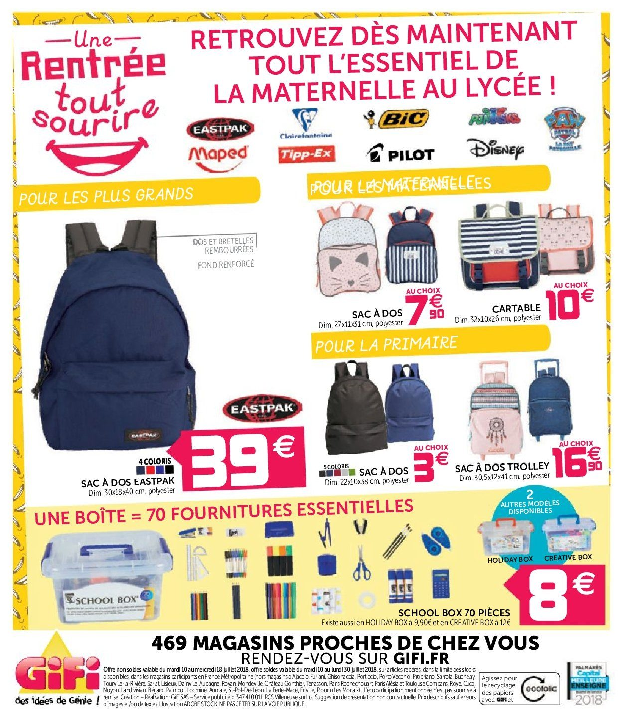 Catalogue GiFi - 10.07.2018 - 18.07.2018. Page 24.