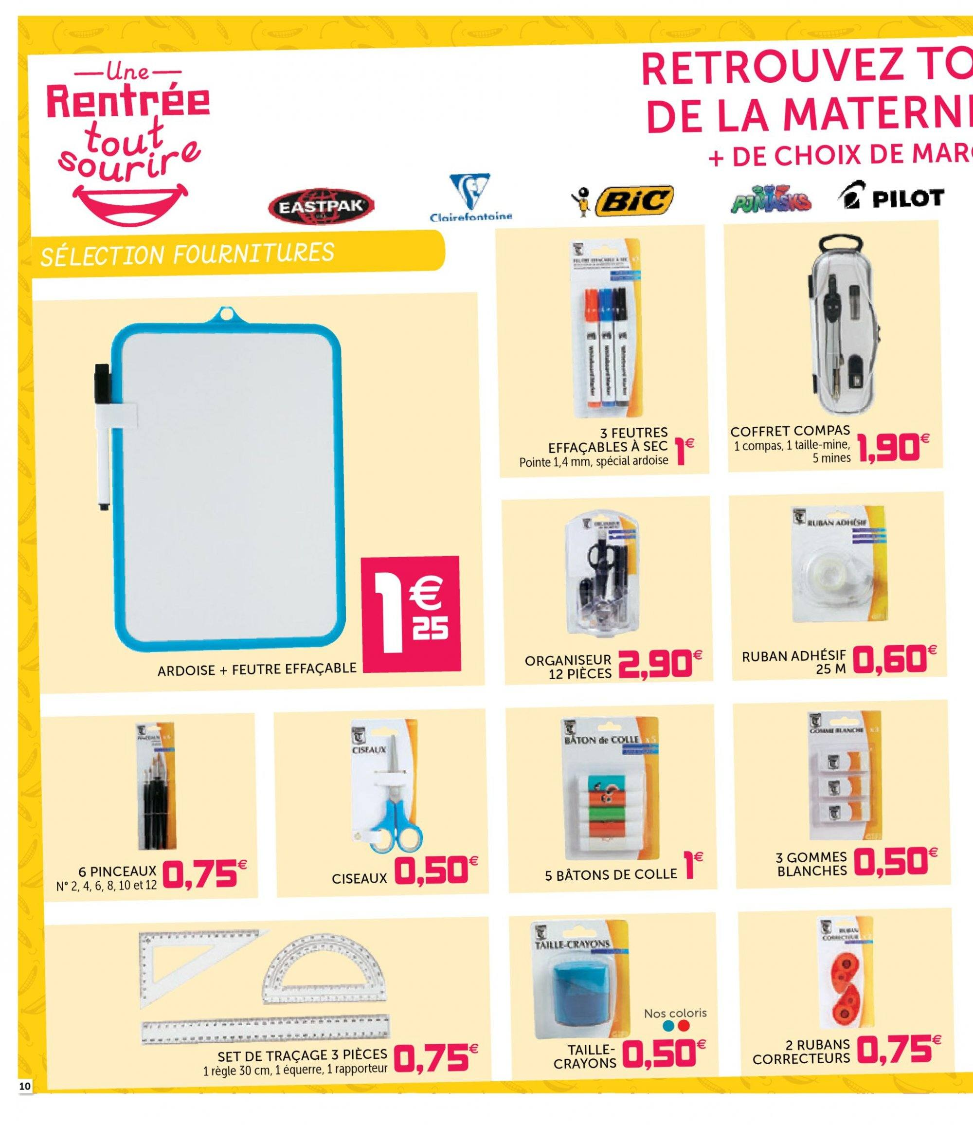 Catalogue GiFi - 07.08.2018 - 15.08.2018. Page 10.