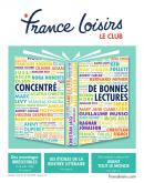 Catalogue France Loisirs - 18.08.2018 - 31.10.2018.