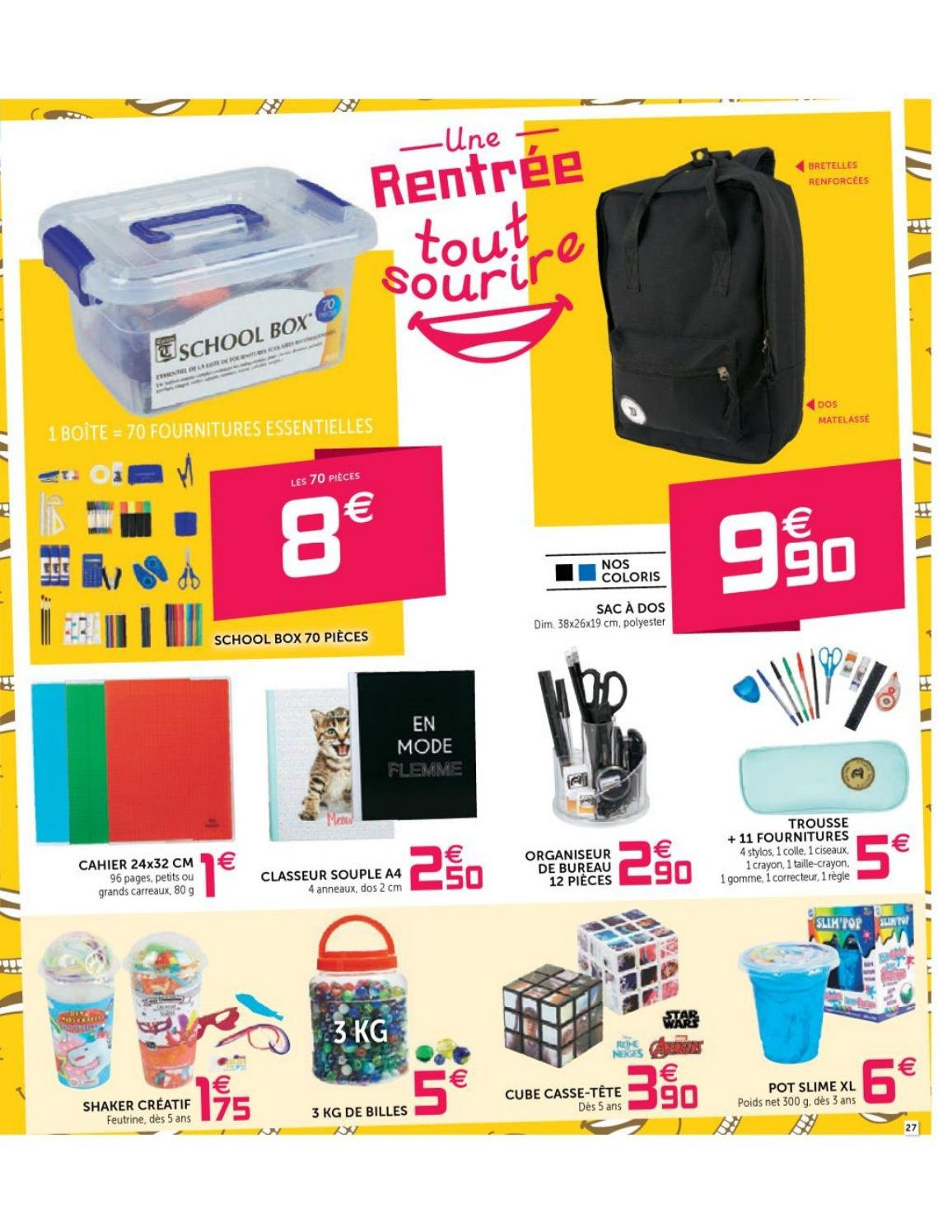 Catalogue GiFi - 04.09.2018 - 12.09.2018. Page 27.