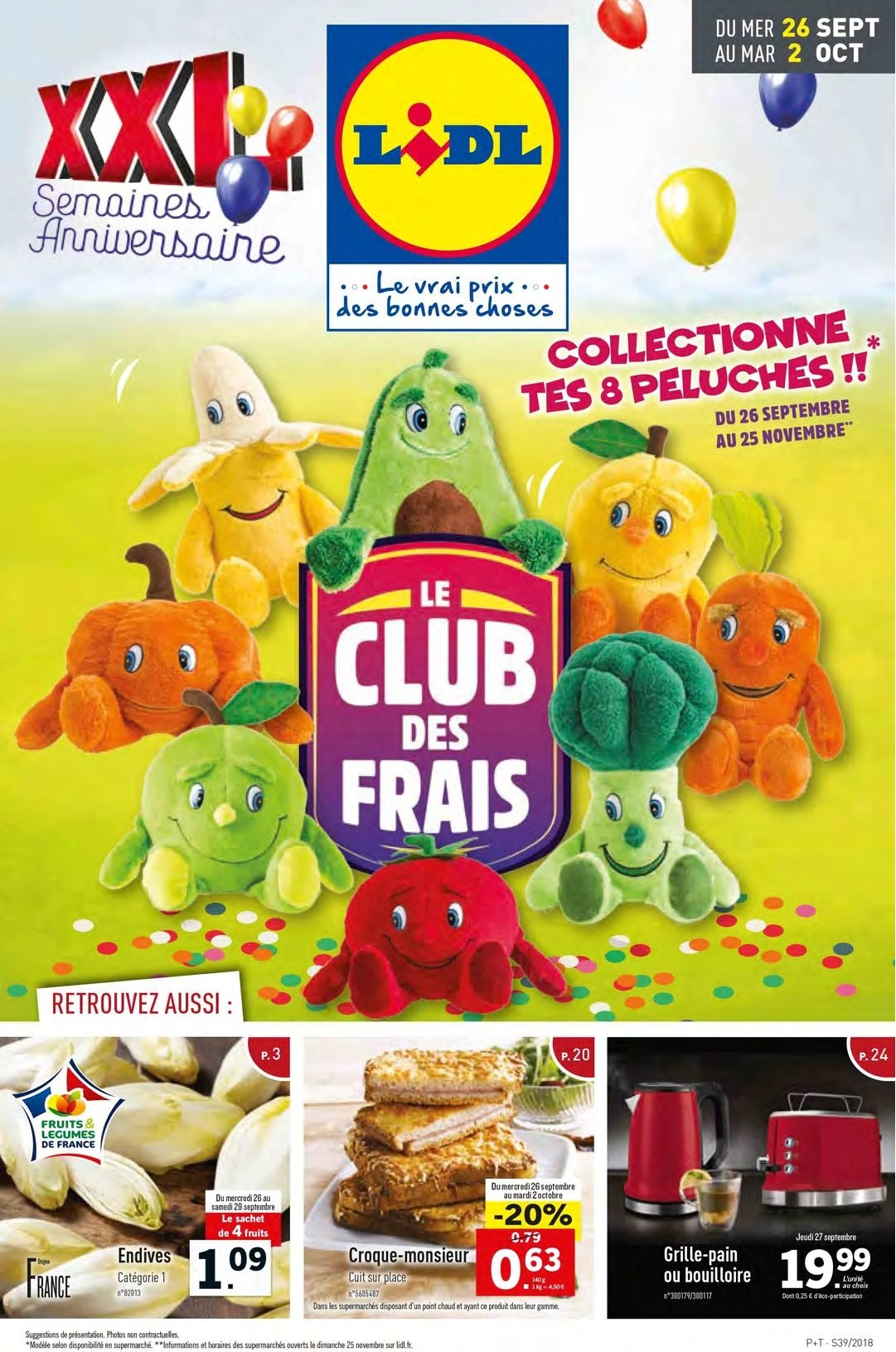Catalogue Lidl - 26.09.2018 - 02.10.2018. Page 1.