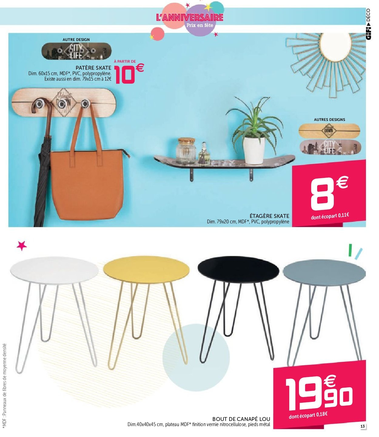 Catalogue GiFi - 25.09.2018 - 03.10.2018. Page 13.
