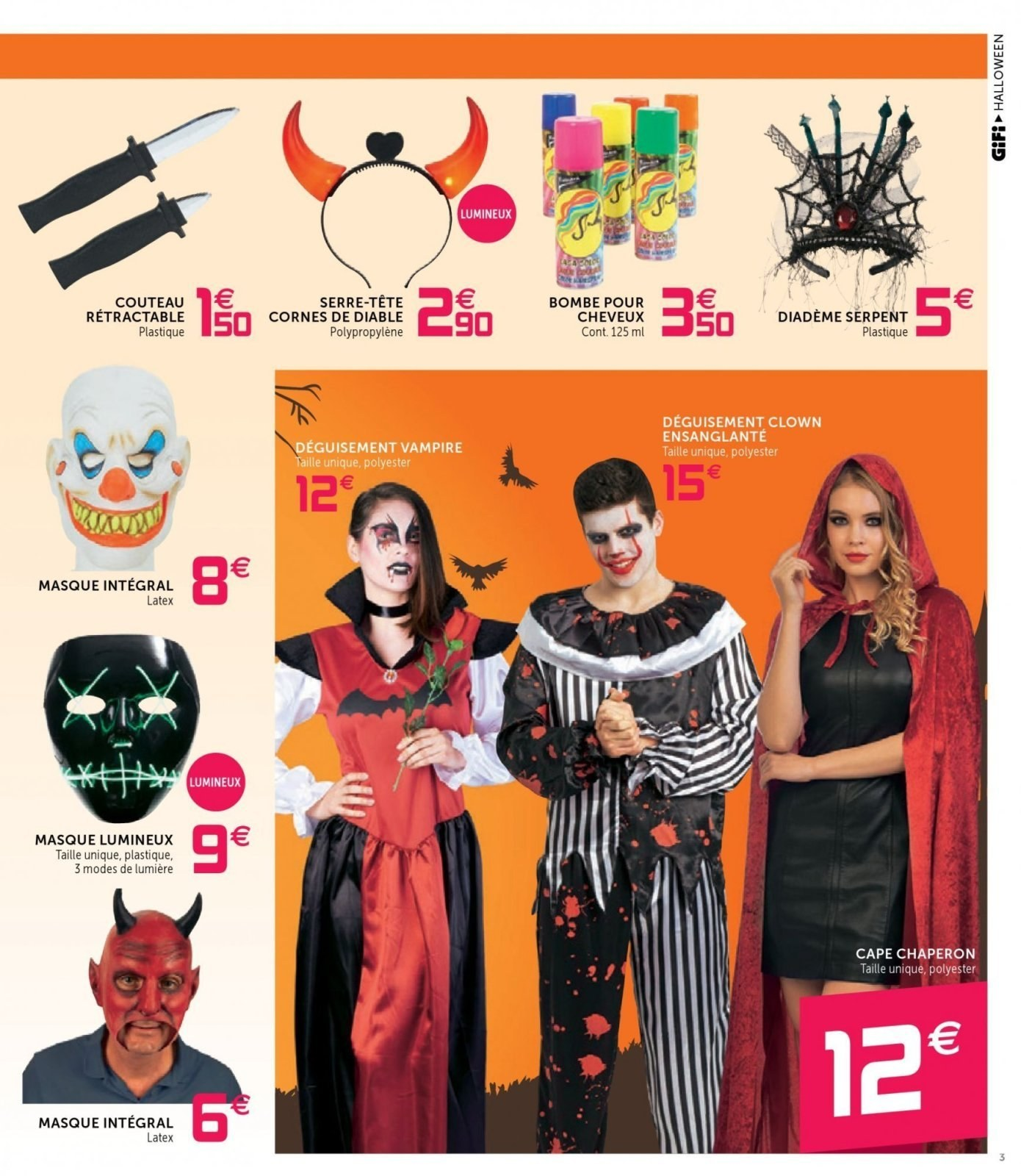Catalogue GiFi - 23.10.2018 - 31.10.2018. Page 3.
