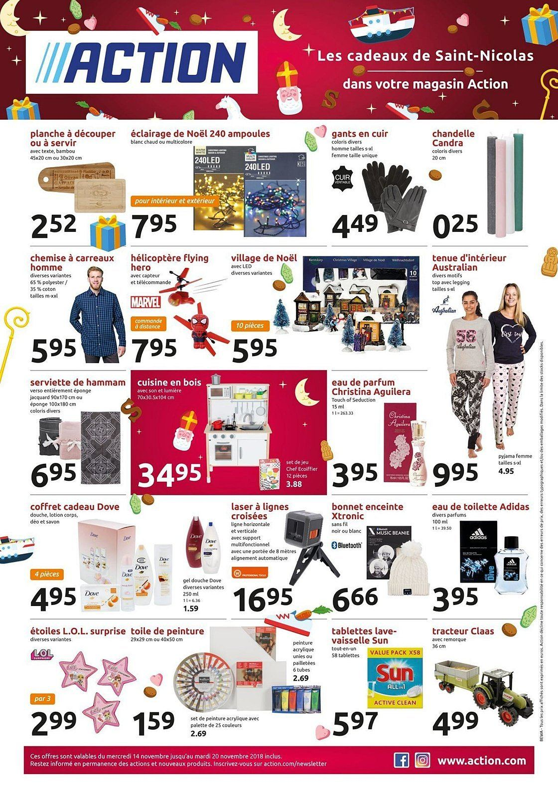 Catalogue Action - 14.11.2018 - 20.11.2018. Page 1.