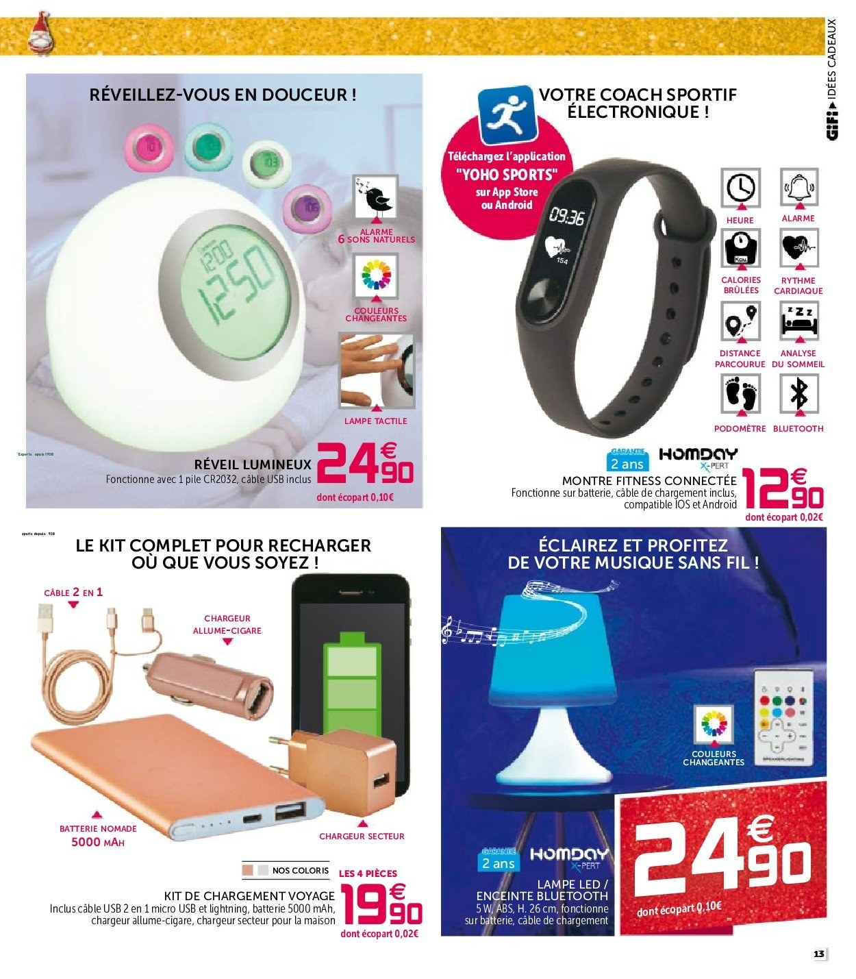 Catalogue GiFi - 27.11.2018 - 05.12.2018. Page 13.