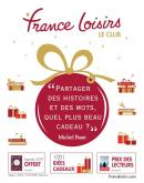 Catalogue France Loisirs - 31.10.2018 - 03.01.2019.
