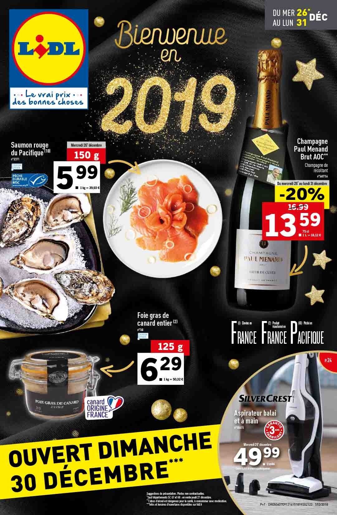 Catalogue Lidl - 26.12.2018 - 31.12.2018. Page 1.