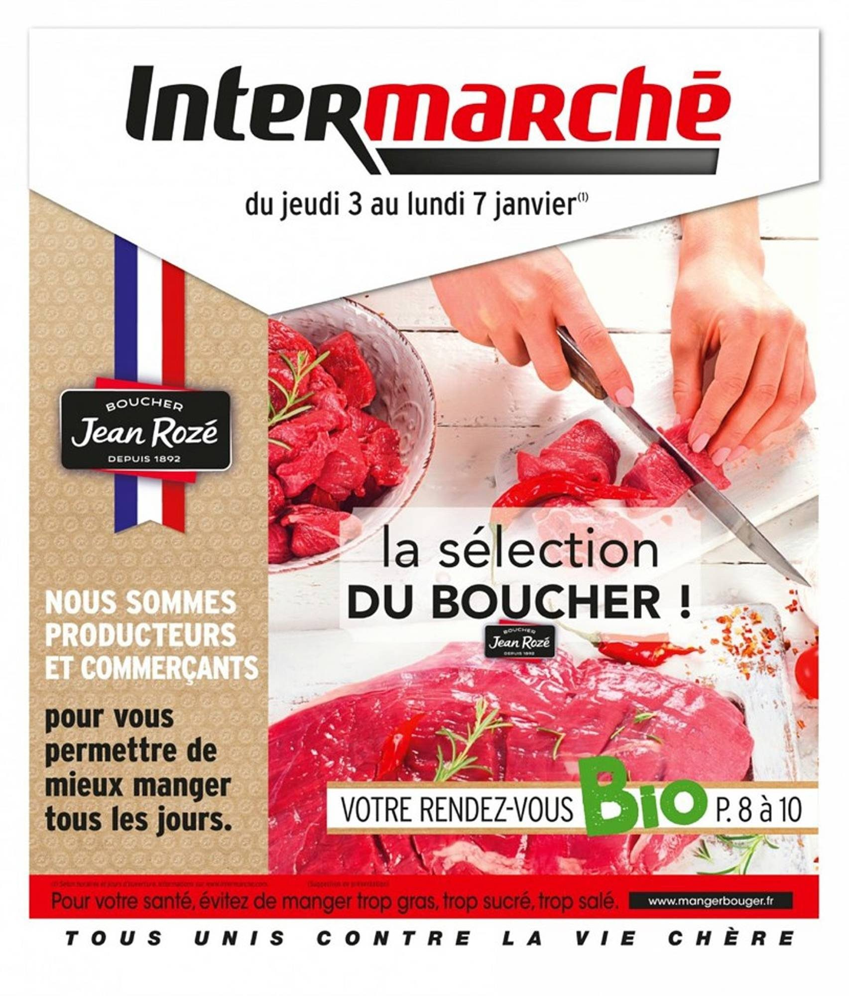 Catalogue Intermarché - 03.01.2019 - 07.01.2019. Page 1.