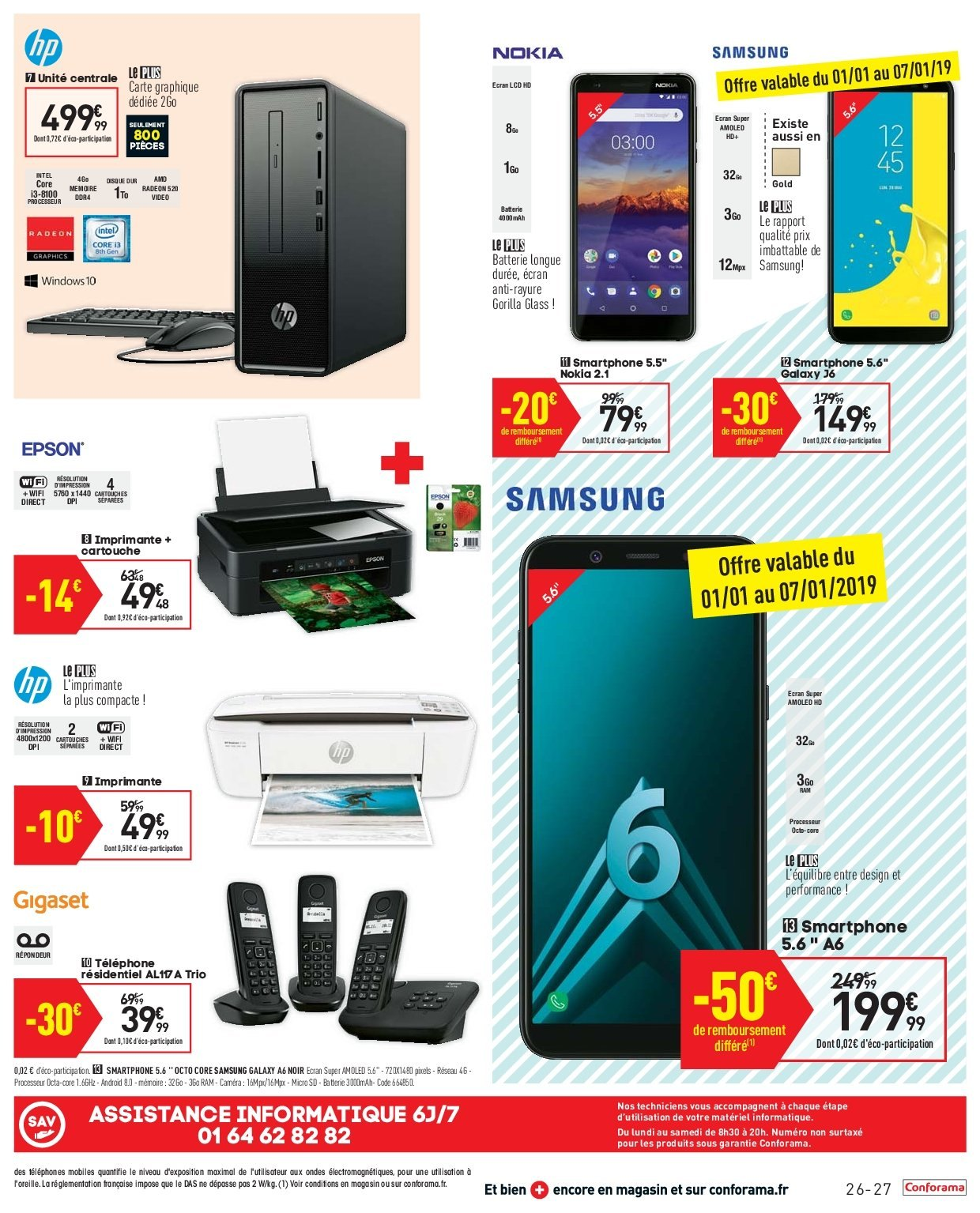 Carte Sd Telephone Conforama.Catalogue Prospectus Pub Conforama 02 01 2019 28 01 2019