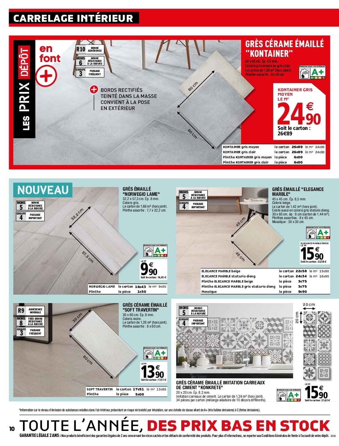 Brico Depot Catalogue Carrelage