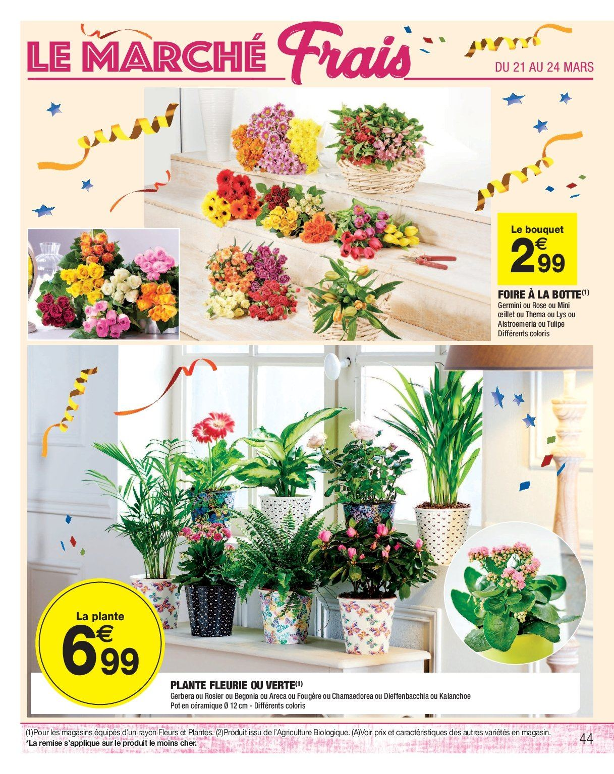 Catalogue, prospectus, pub Carrefour 19.03.2019 - 31.03.2019 | Vos ...