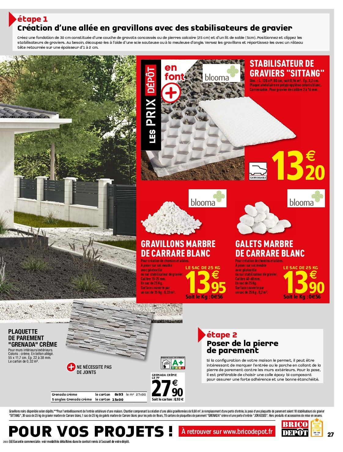 Catalogue Brico Depot 05 04 2019 25 04 2019 Page 27 Vos Promos
