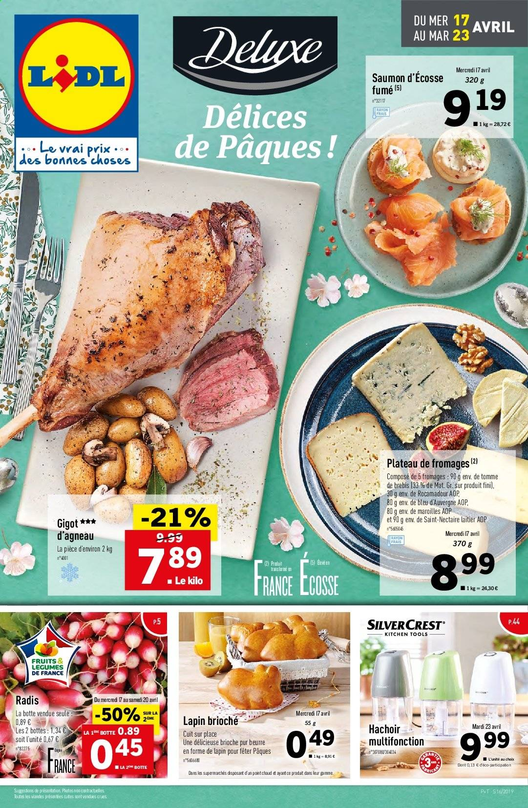 Catalogue Lidl - 17.04.2019 - 23.04.2019. Page 1.