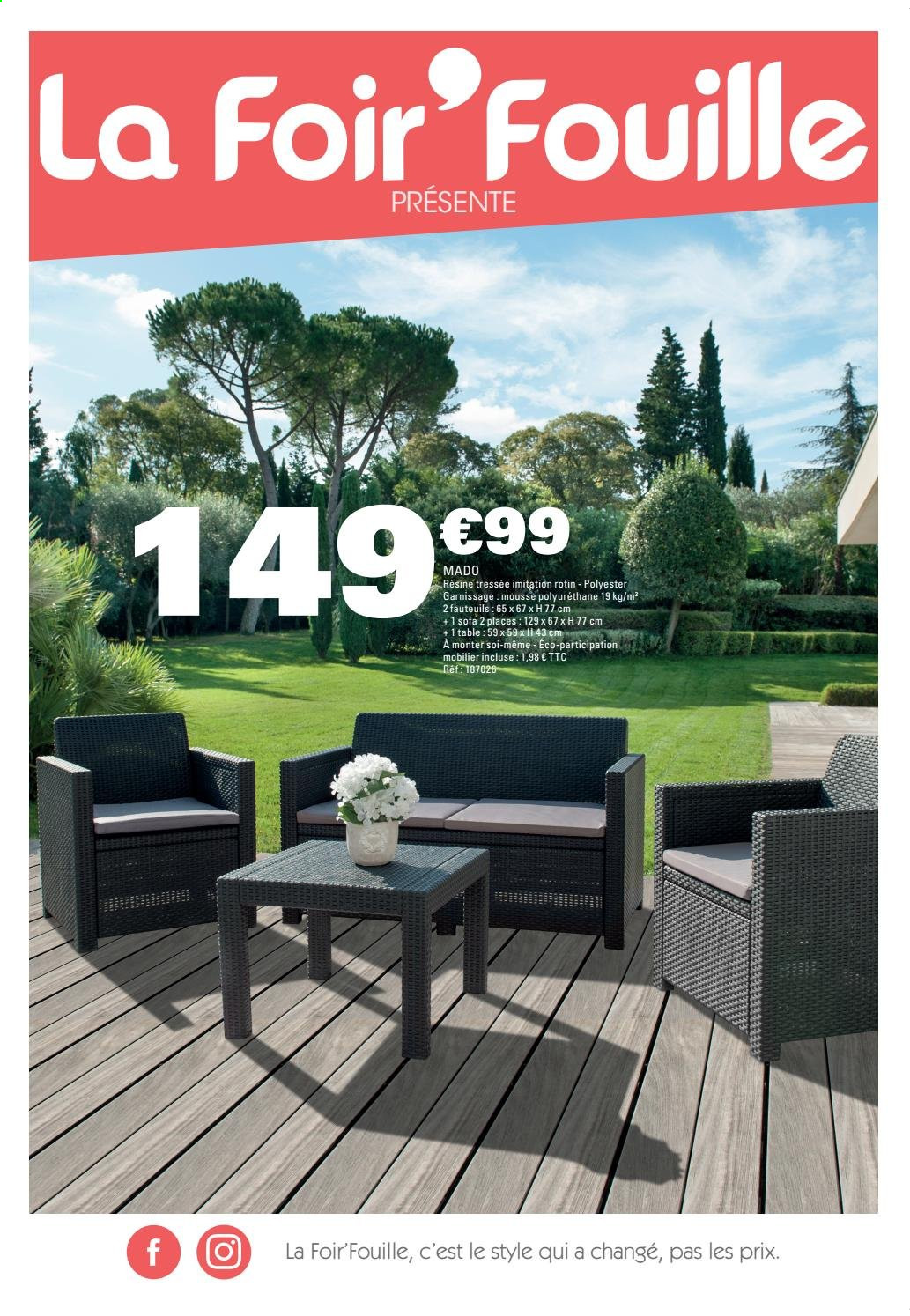 Catalogue, prospectus, pub La Foir\'Fouille 17.04.2019 ...