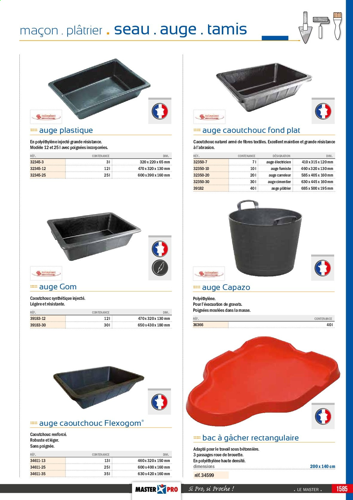 Catalogue Master Pro - 01.01.2017 - 31.12.2019. Page 1633.