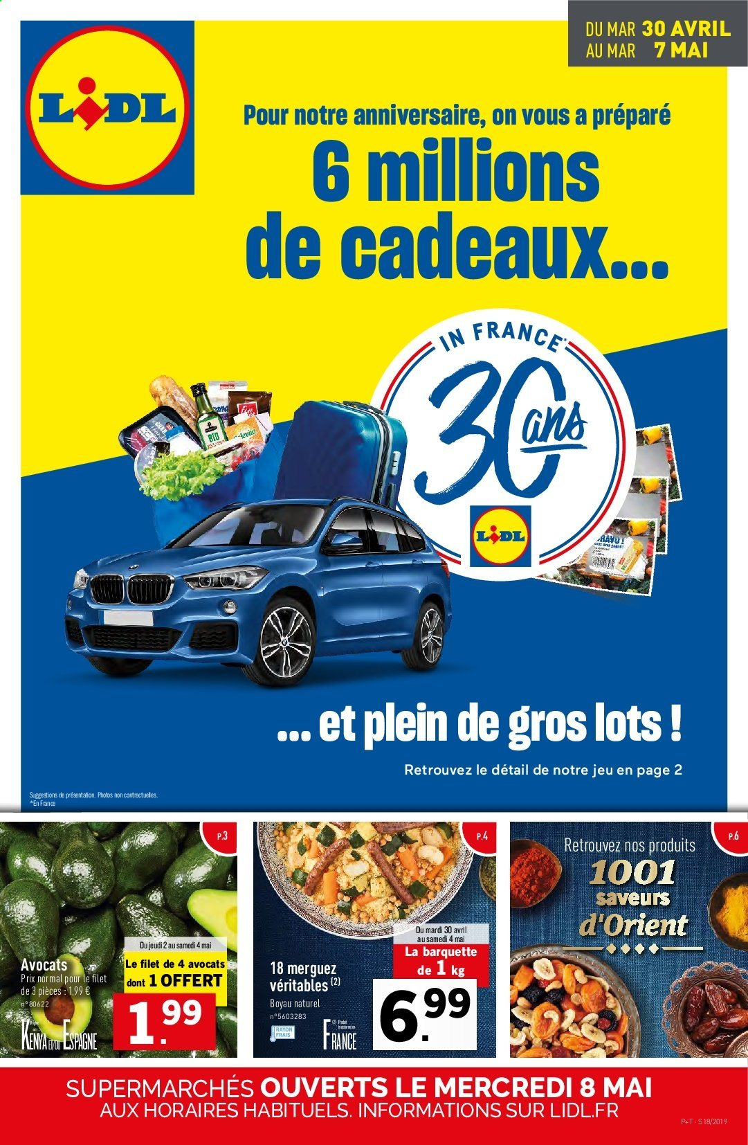 Catalogue Lidl - 30.04.2019 - 07.05.2019. Page 1.
