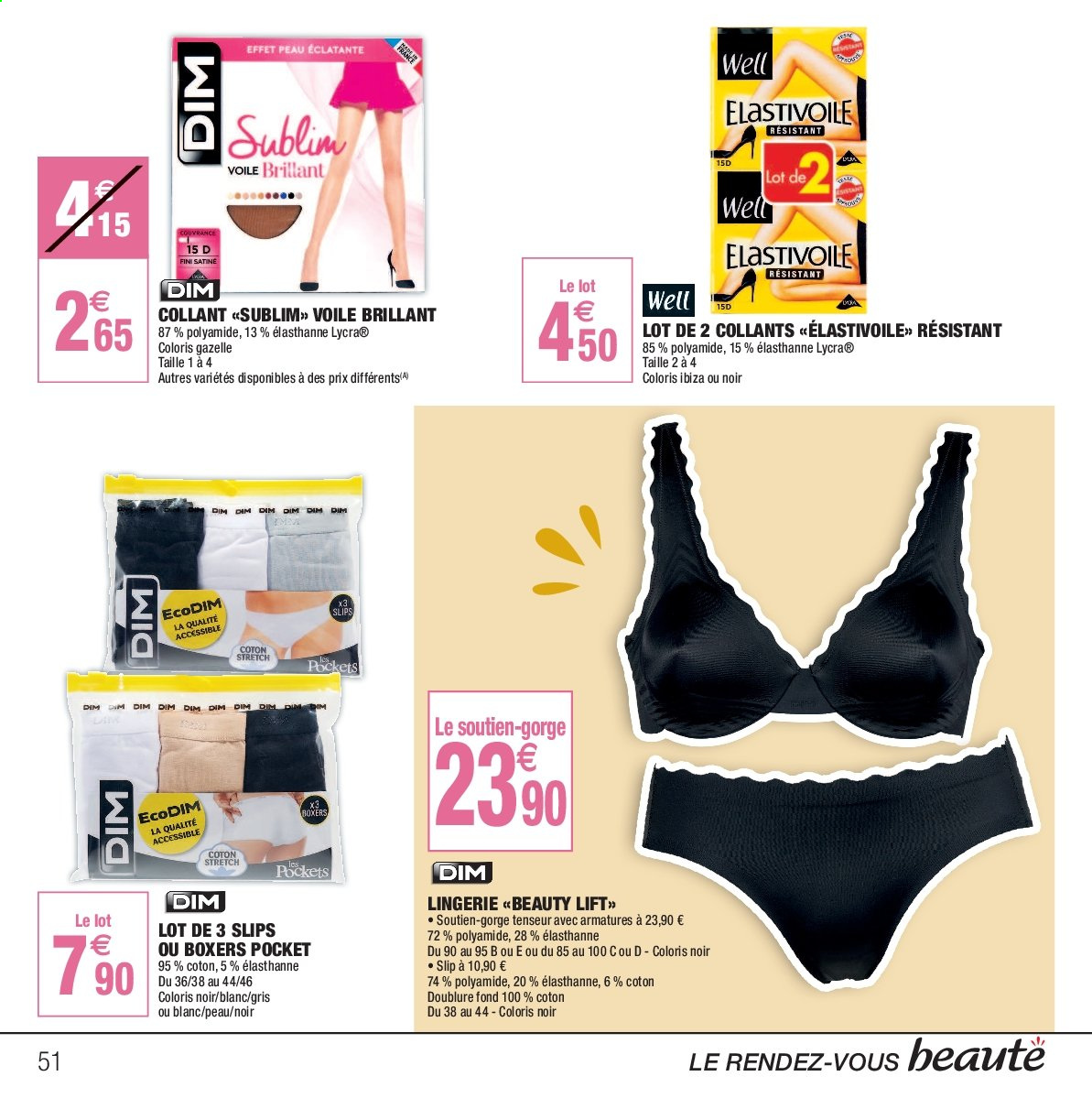 9aad93499347f7 boxer dim homme carrefour
