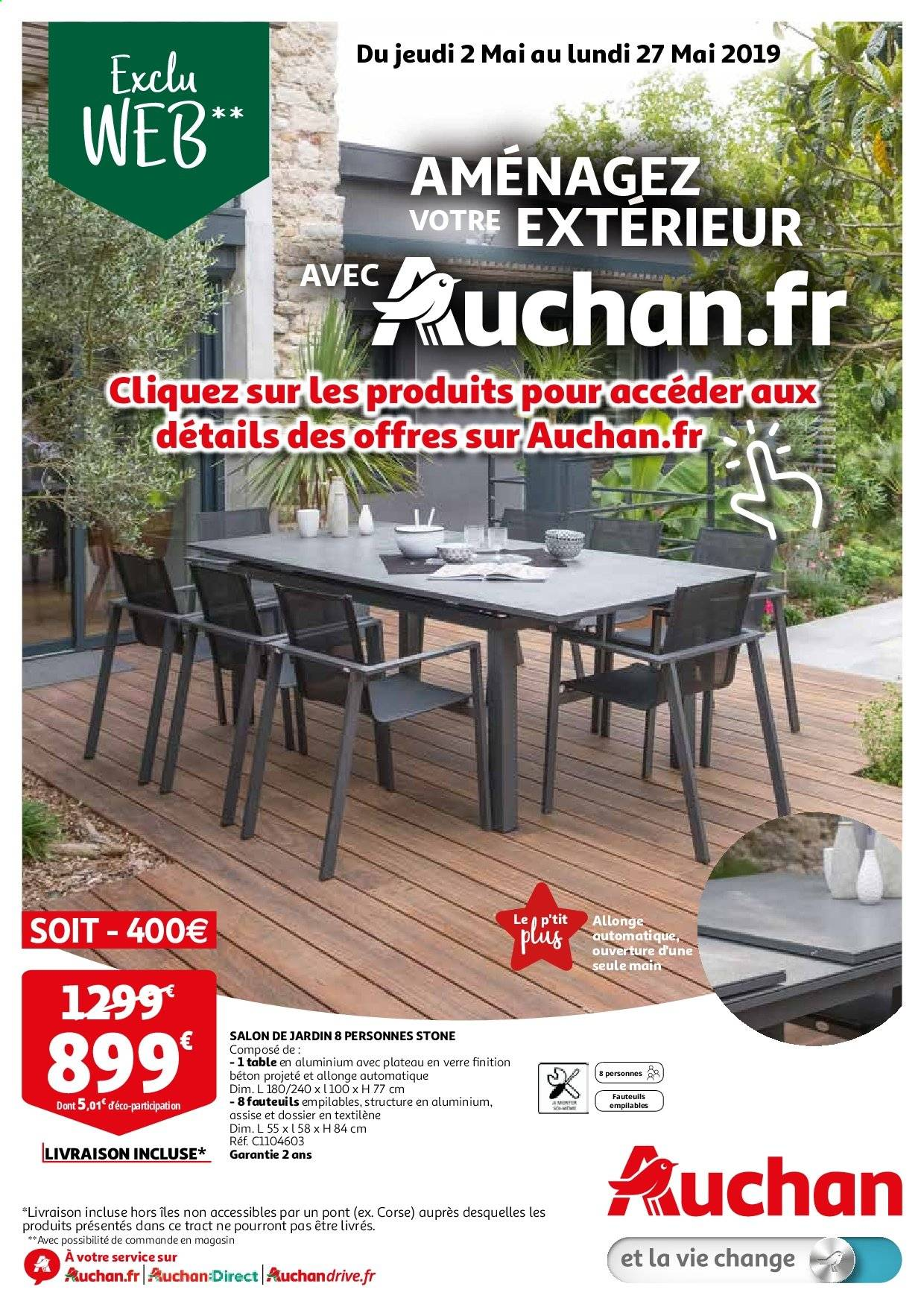 Catalogue, prospectus, pub Auchan 02.05.2019 - 27.05.2019 ...