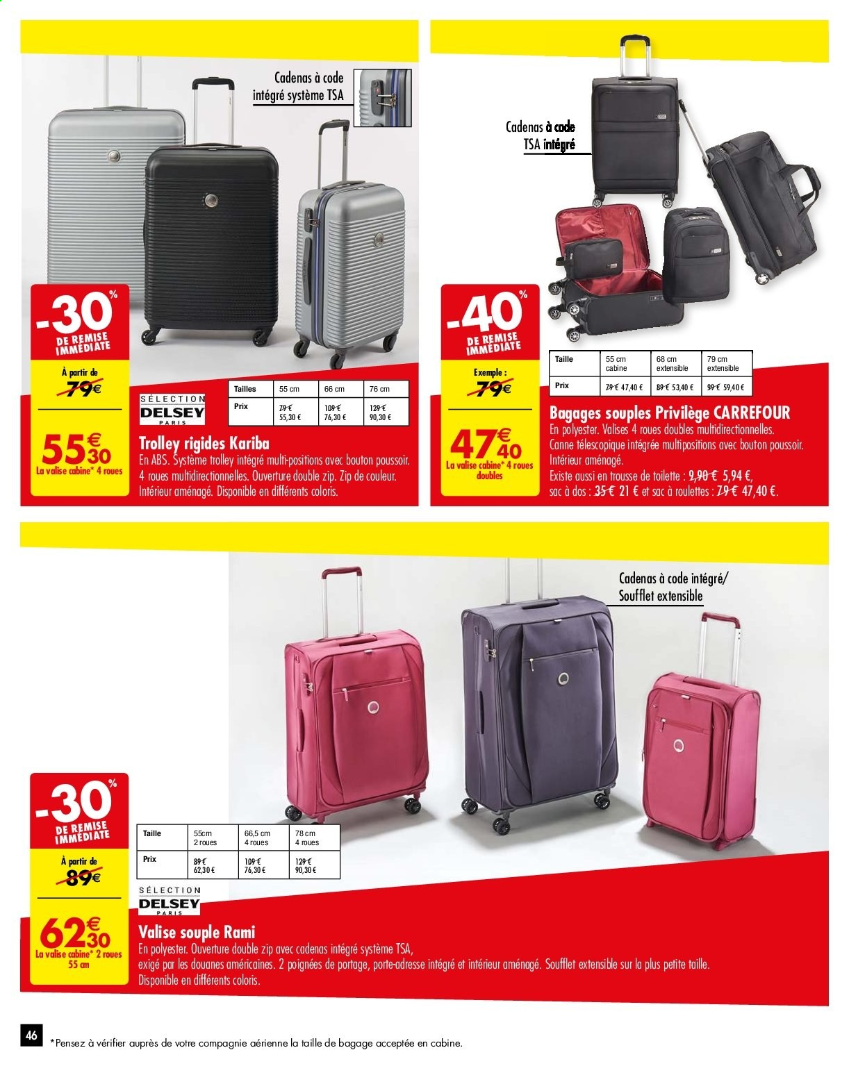 d34b4afe4d Catalogue Carrefour - 14.05.2019 - 27.05.2019 - Produits soldés - trolley,