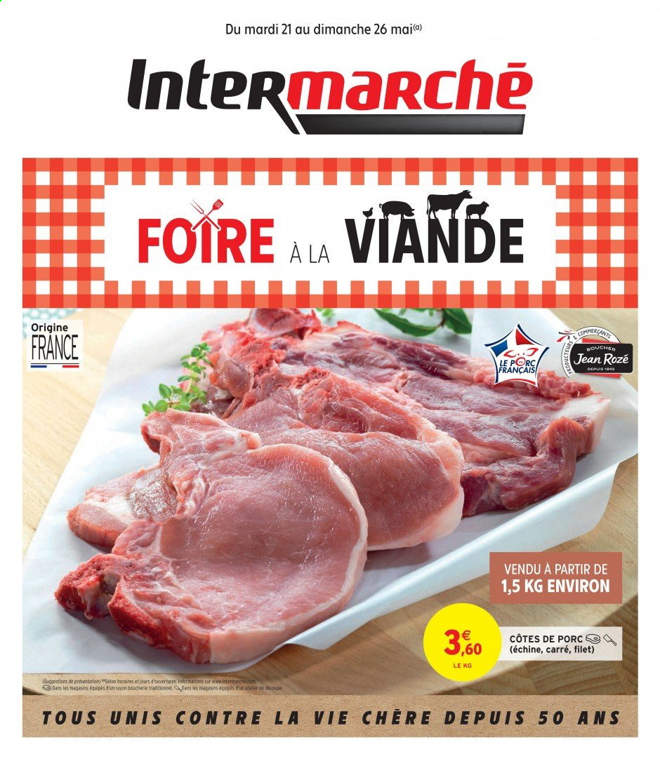 Catalogue Intermarché - 21.05.2019 - 26.05.2019. Page 1.