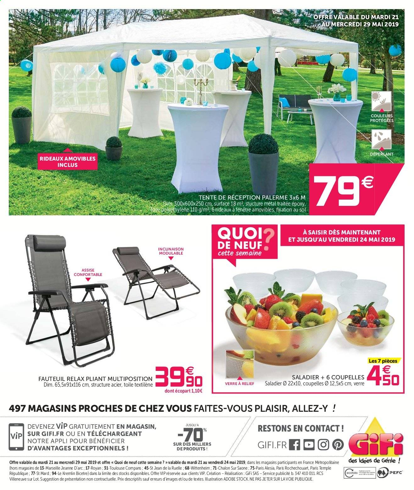 Catalogue Gifi 21 05 2019 29 05 2019 Page 32 Vos Promos