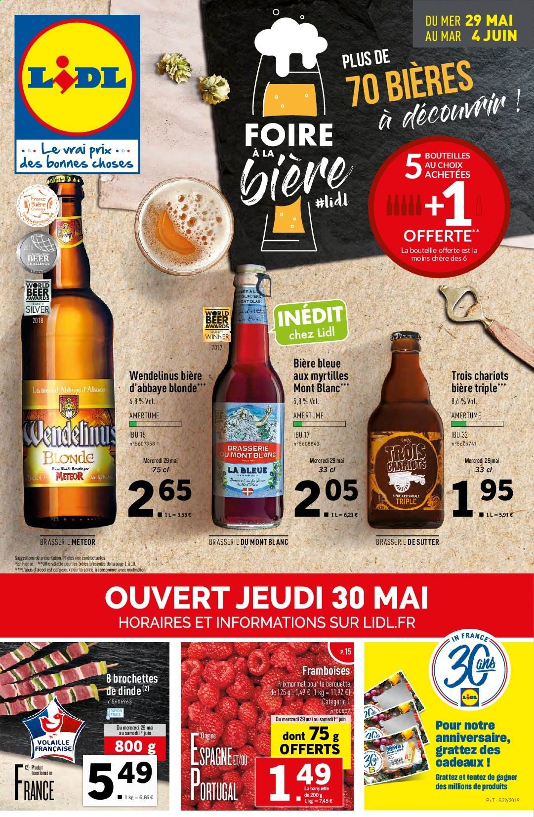 Catalogue Lidl - 29.05.2019 - 04.06.2019. Page 1.