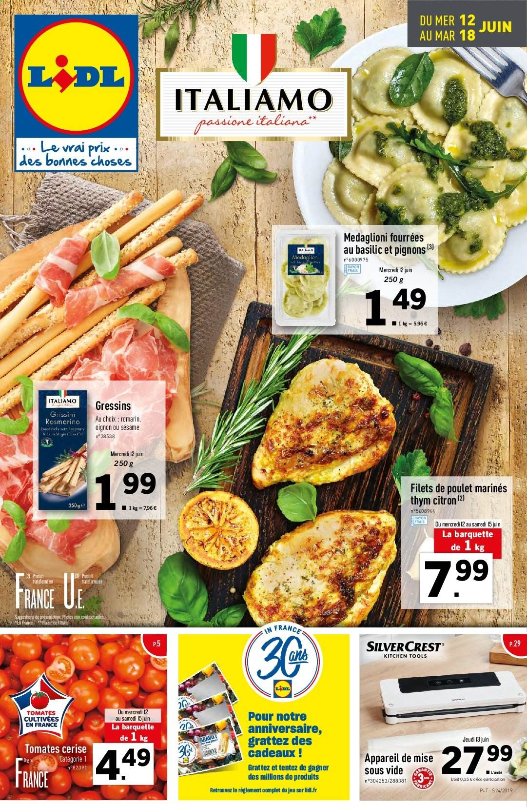 Catalogue Lidl - 12.06.2019 - 18.06.2019. Page 1.