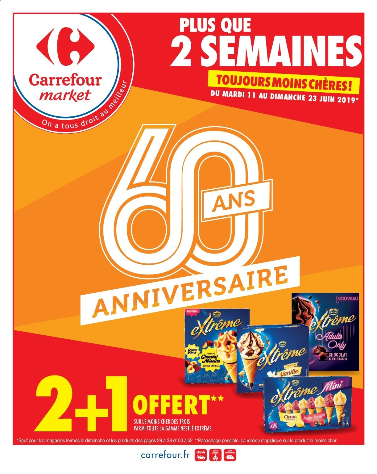 dad2c4ffb8006c Catalogue, prospectus, pub Carrefour 11.06.2019 - 23.06.2019 | Vos ...