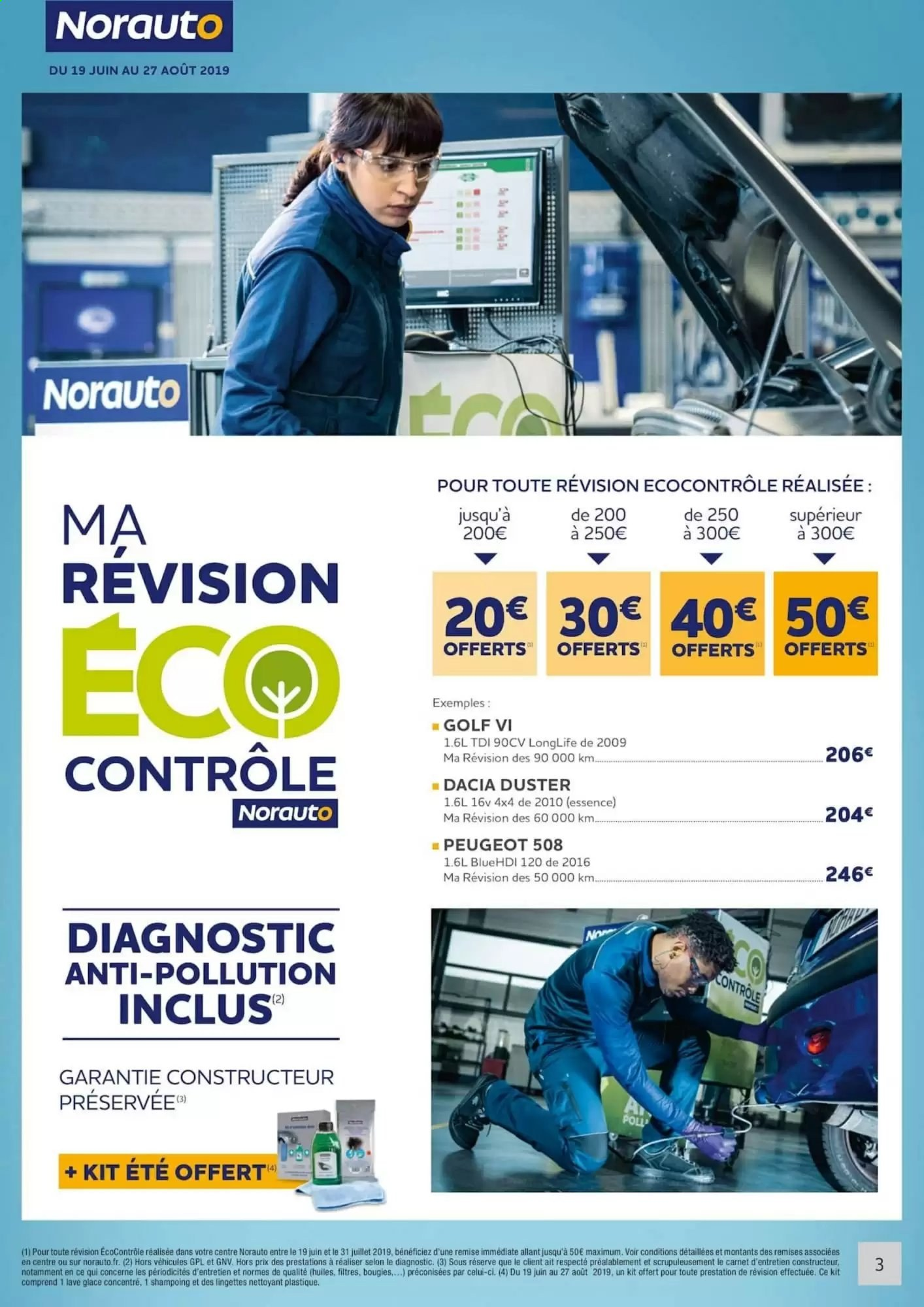 Catalogue Prospectus Pub Norauto 19 06 2019 27 08 2019