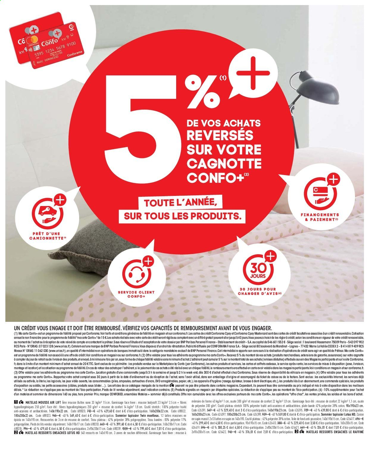 Carte Conforama Cpay.Catalogue Prospectus Pub Conforama 16 07 2019 12 08 2019