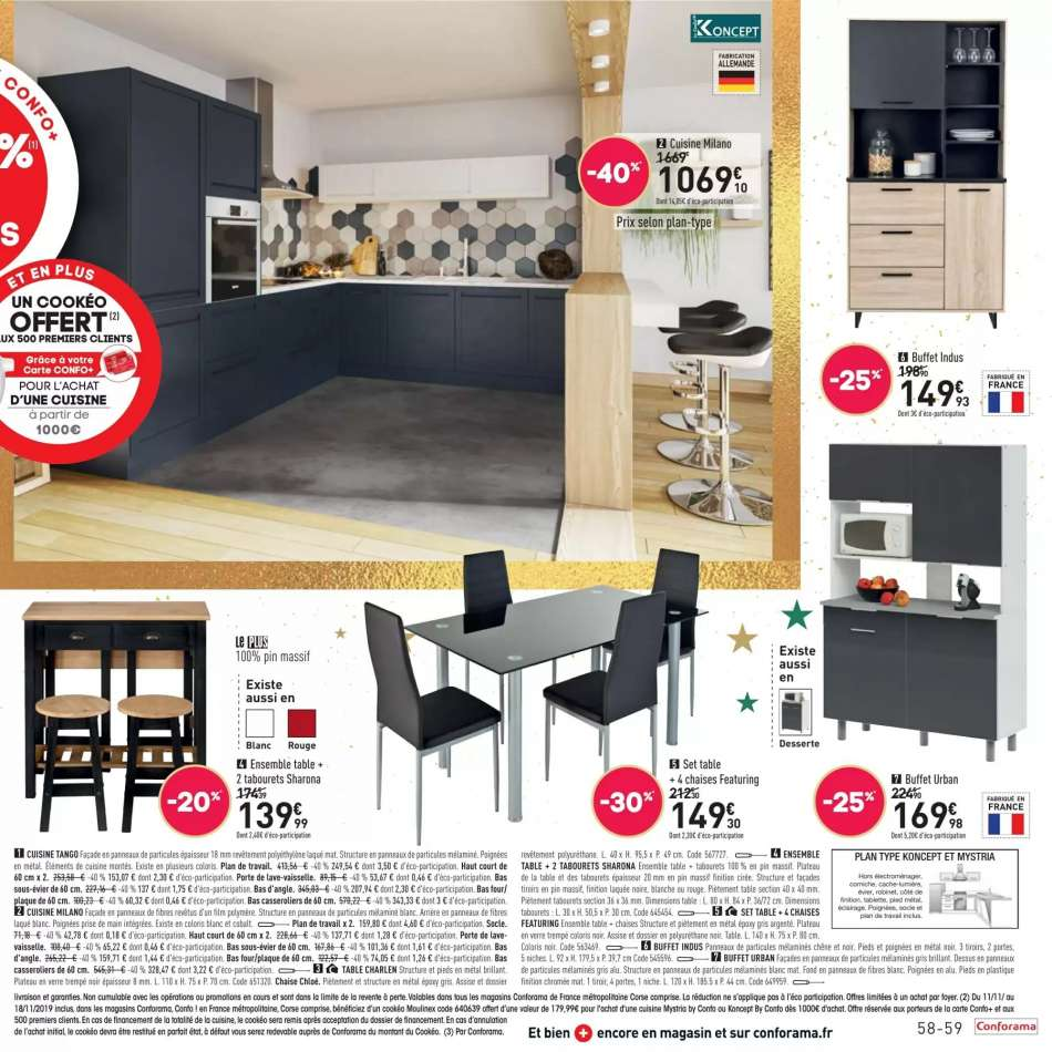 Catalogue Conforama 12 11 2019 24 12 2019 Vos Promos