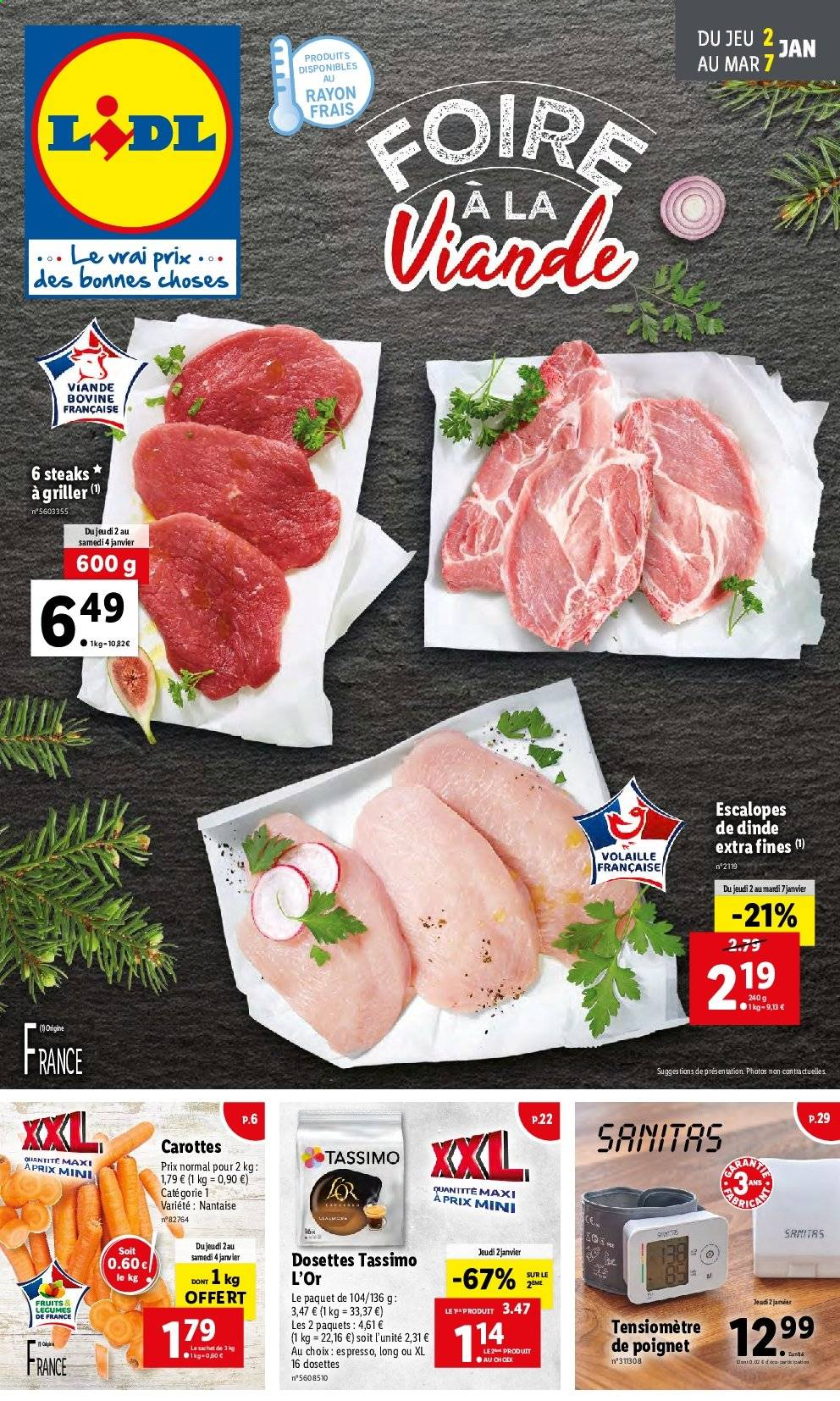 Catalogue Lidl - 02.01.2020 - 07.01.2020. Page 1.
