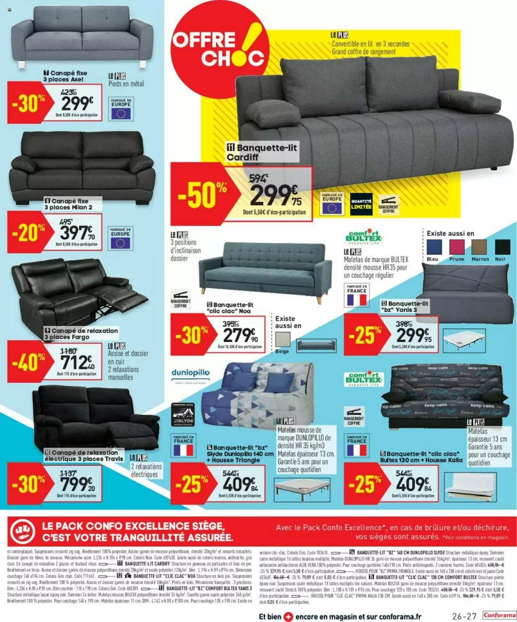 Catalogue Conforama 25 12 2019 20 01 2020 Page 27 Vos Promos
