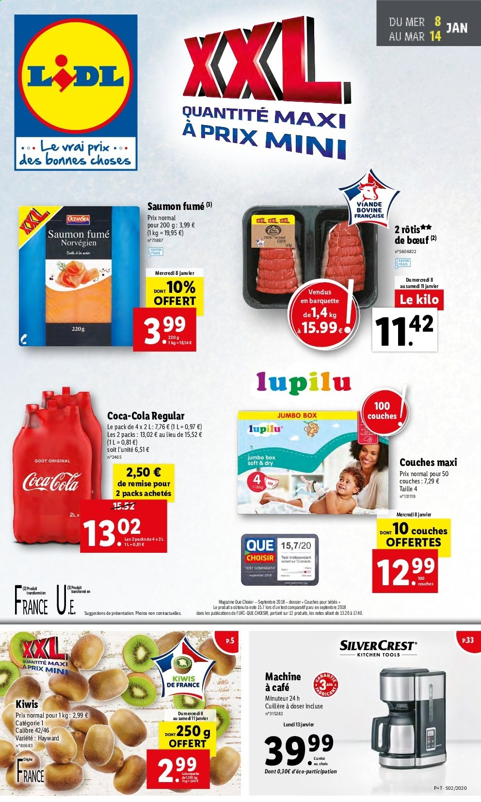 Catalogue Lidl - 08.01.2020 - 14.01.2020. Page 1.