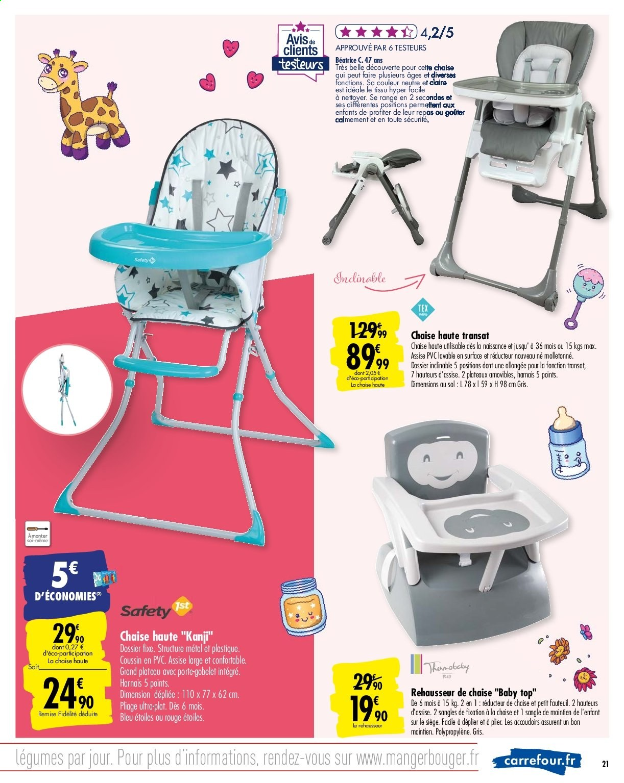 Catalogue Carrefour 5.5.5 - 5.5.5 - page 5  Vos Promos
