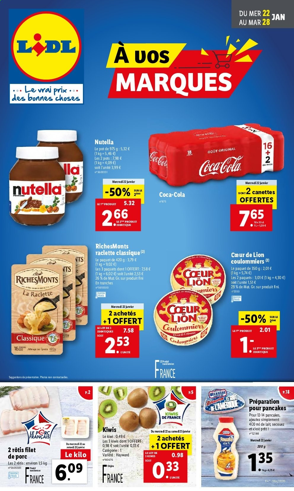 Catalogue Lidl - 22.01.2020 - 28.01.2020. Page 1.