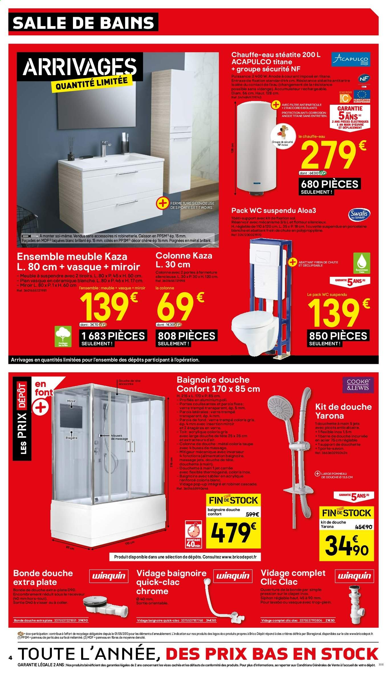 Catalogue Brico Depot 17 01 2020 31 01 2020 Page 4 Vos Promos