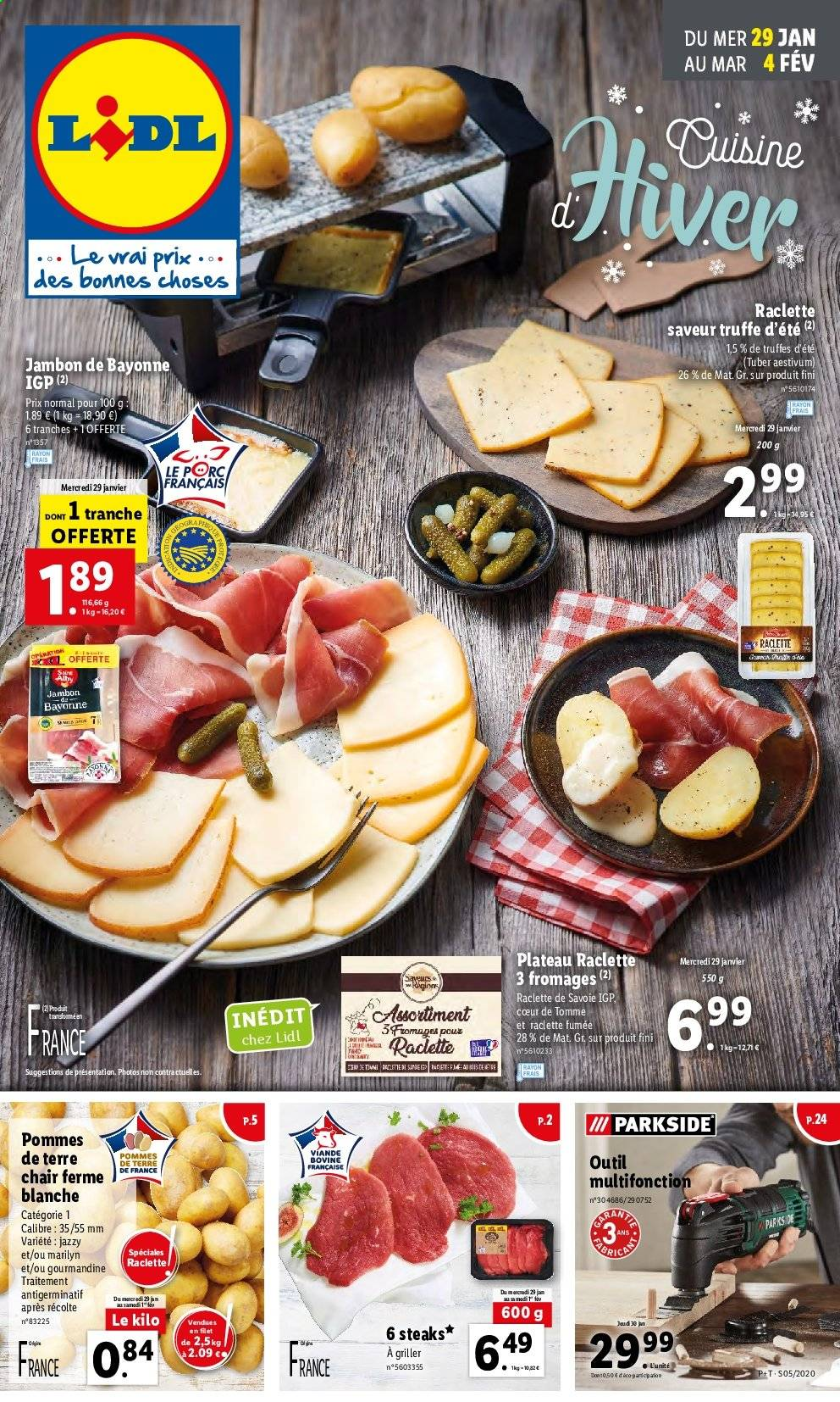 Catalogue Lidl - 29.01.2020 - 04.02.2020. Page 1.