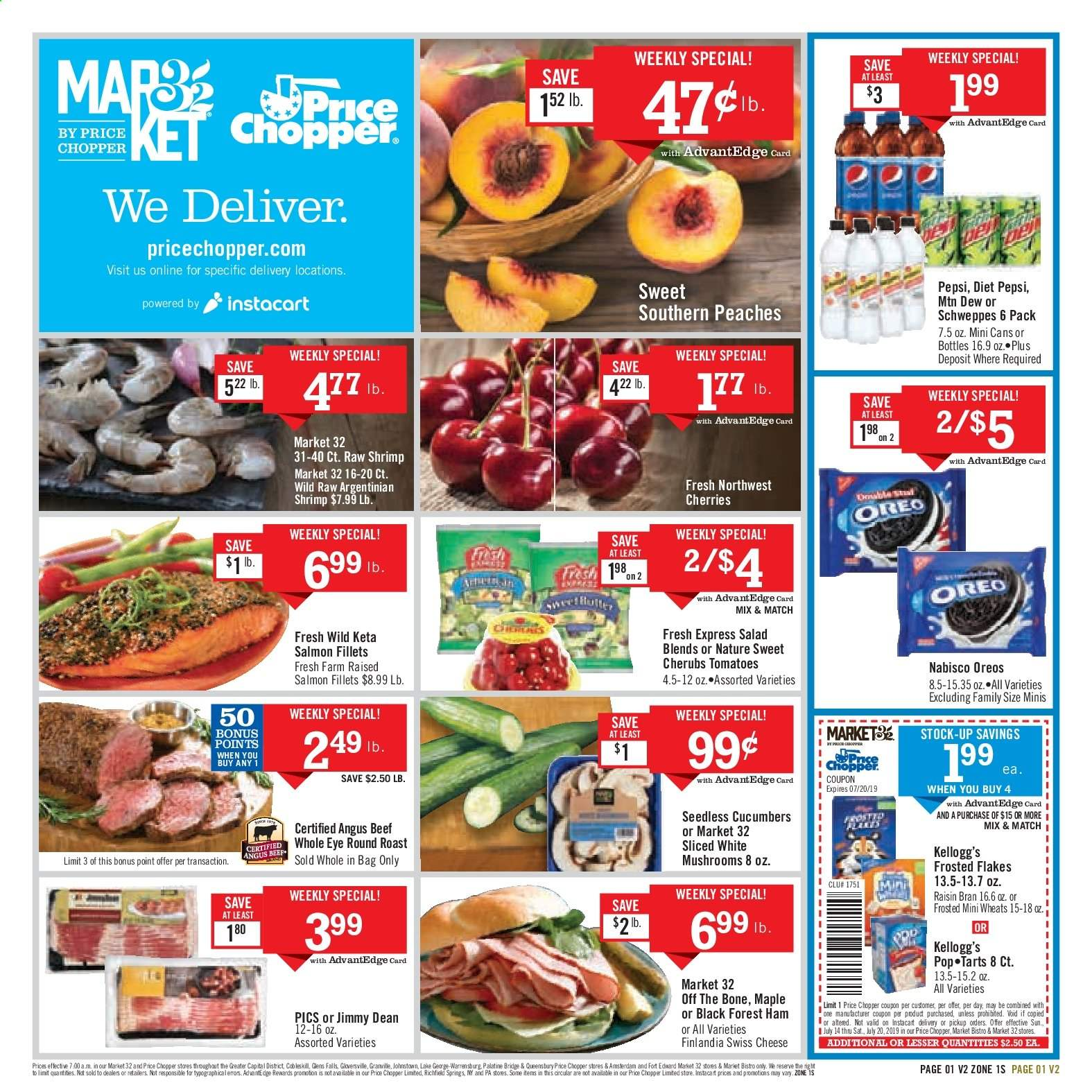 Price Chopper Flyer  - 07.14.2019 - 07.20.2019. Page 1.