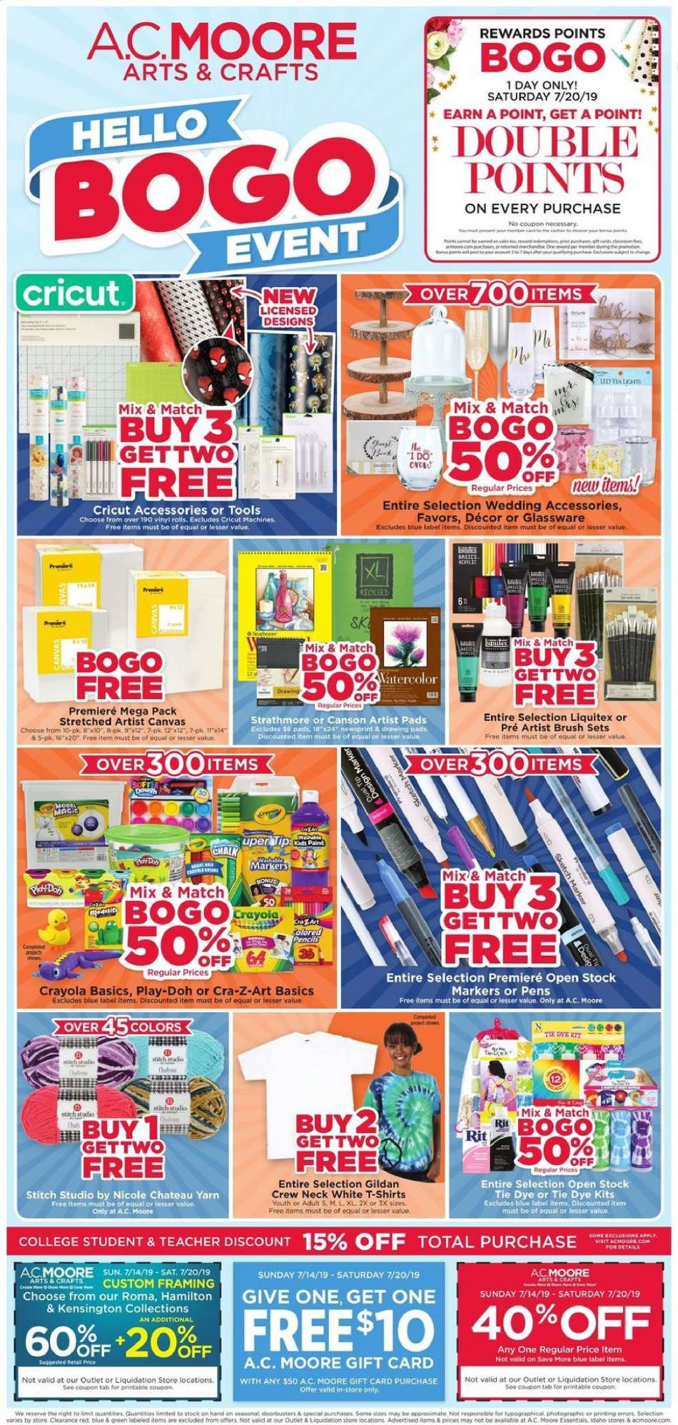 A C  Moore flyer 07 14 2019 - 07 20 2019   Weekly-ads us