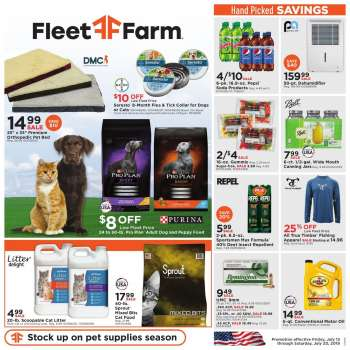 Fleet Farm Coupons >> Fleet Farm Ad Flyer Circular Coupon And Sales Weekly Ads Us