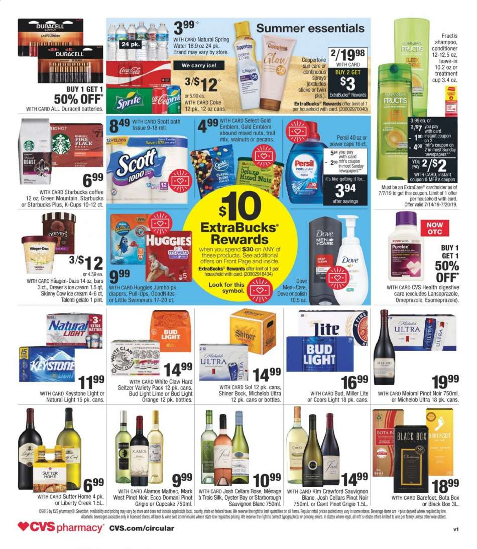 CVS Pharmacy flyer 07 14 2019 - 07 20 2019 | Weekly-ads us