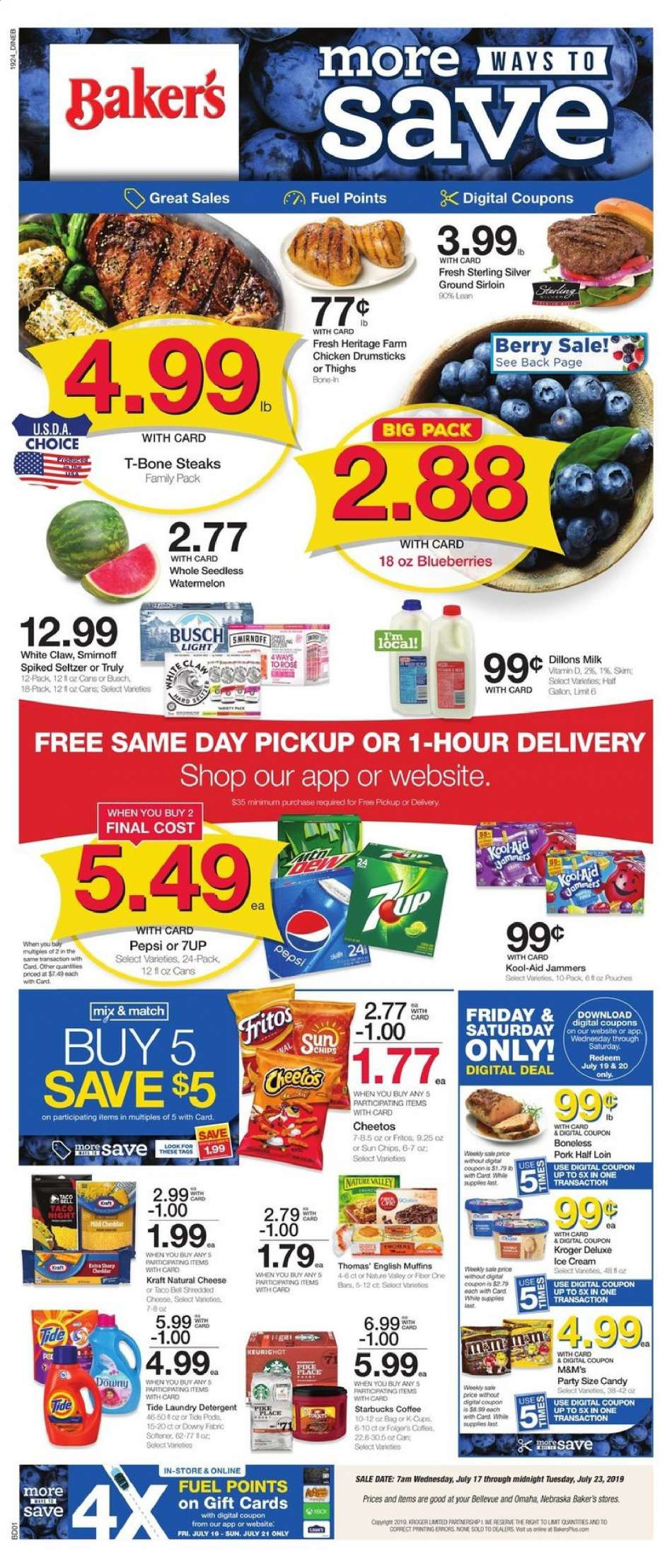 Baker's flyer 07 17 2019 - 07 23 2019 | Weekly-ads us