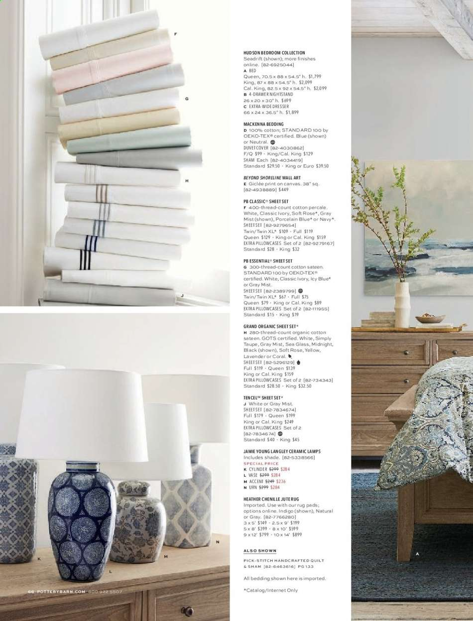 Pottery Barn flyer 07 19 2019 - 09 30 2019 | Weekly-ads us
