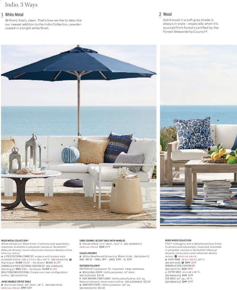 Magnificent Pottery Barn Flyer 07 19 2019 09 30 2019 Weekly Ads Us Squirreltailoven Fun Painted Chair Ideas Images Squirreltailovenorg