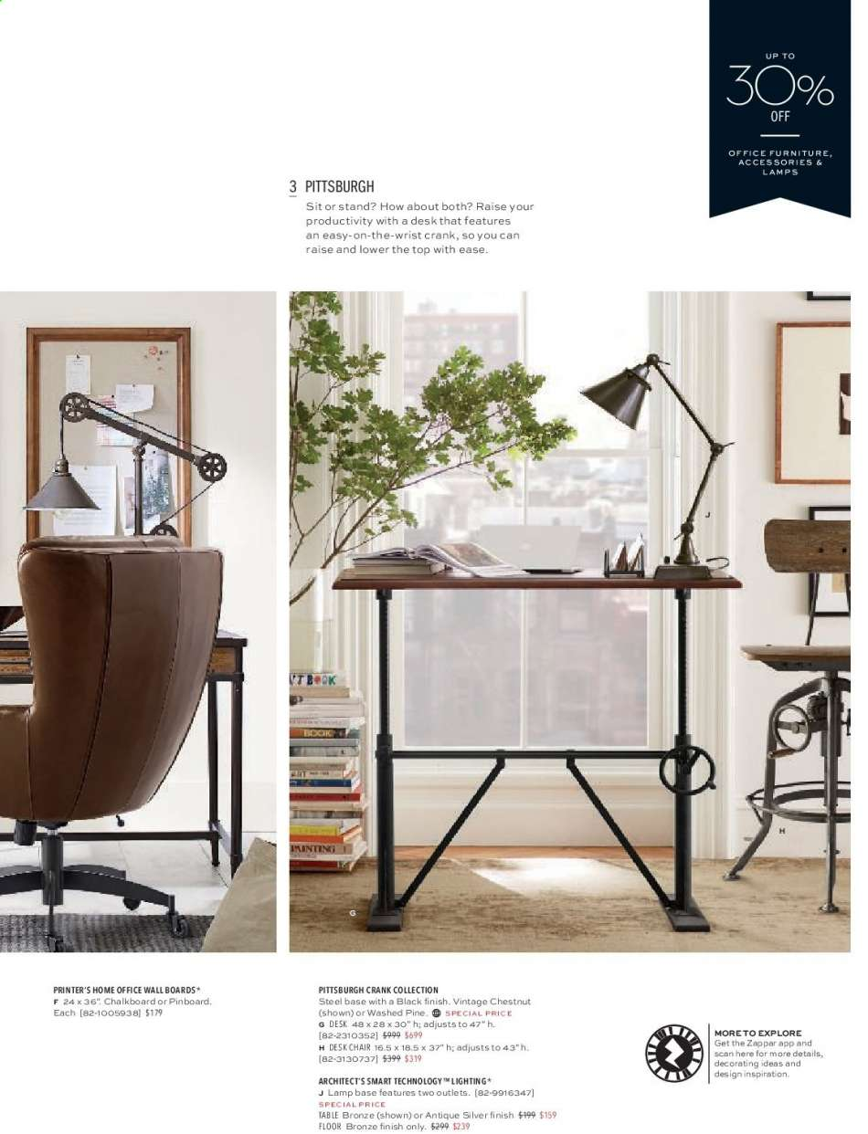 Strange Pottery Barn Flyer 07 19 2019 09 30 2019 Weekly Ads Us Pabps2019 Chair Design Images Pabps2019Com
