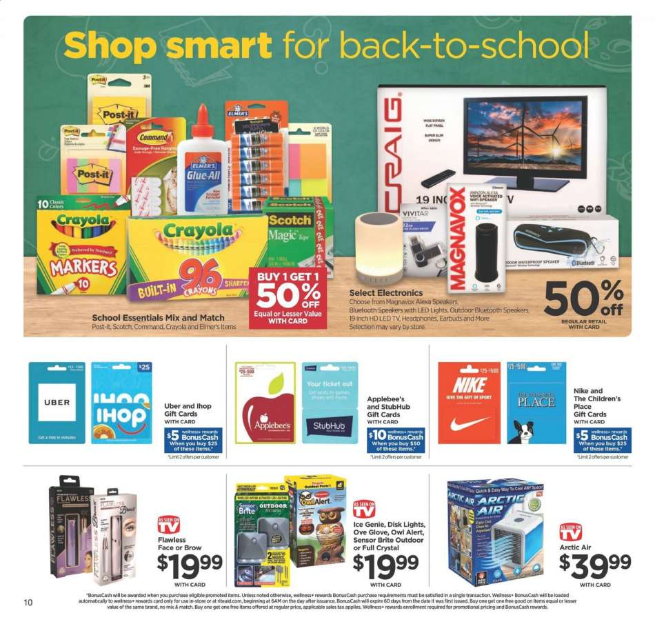 Rite Aid flyer 07 21 2019 - 07 27 2019 | Weekly-ads us